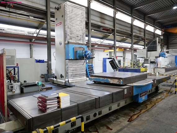 Used JUARISTI TS 5 MG 20 5-Axis CNC Horizontal Boring Mill - Subject to Prior Sale for Sale (Trading Premium)