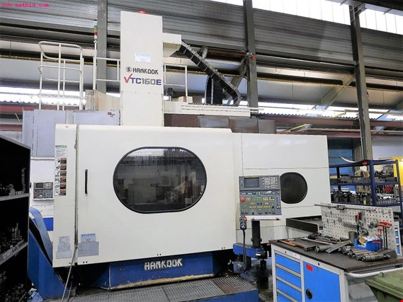 Hankook VTC160E CNC Vertical Turning Lathe w/ C-axis - Subject to Prior Sale koupit použité (Trading Premium)