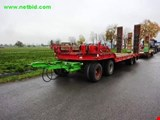 Marte 4A-TÜ40 (Tiefgangbrücke) 4-axle low-bed trailer