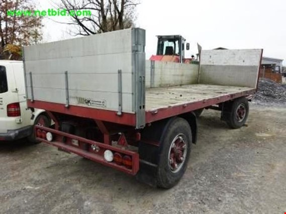Used Grünenfelder Kriessern LA12 2-axle turntable trailer for Sale (Trading Premium)
