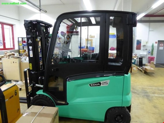 Post auction sale fork-lift trucks, workshop equipment and  vehicle fleet