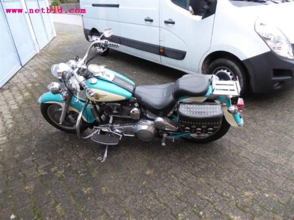 harley davidson fat boy flstf motorrad gebraucht kaufen