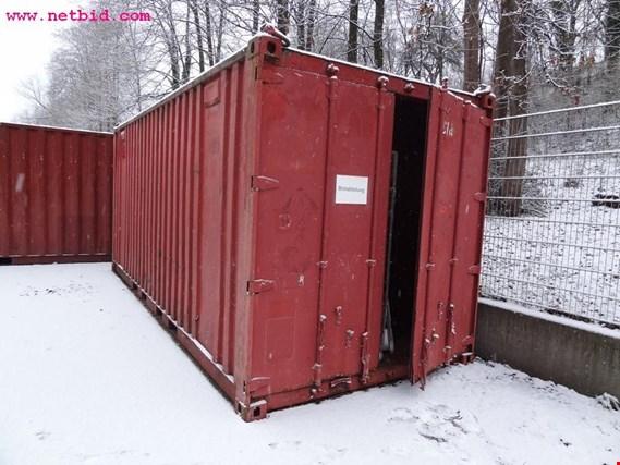 2 20 seecontainer gebraucht kaufen auction premium. Black Bedroom Furniture Sets. Home Design Ideas