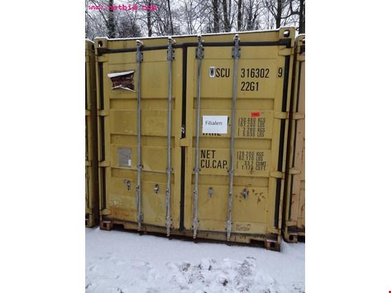 20´-Seecontainer gebraucht kaufen (Auction Premium)