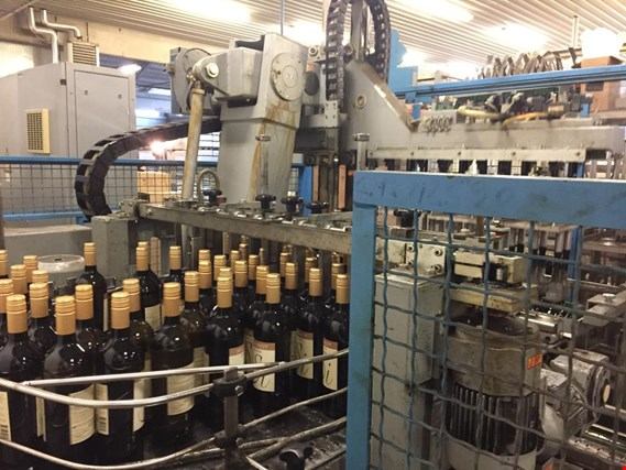 Online-Auction Machines for wine bottling