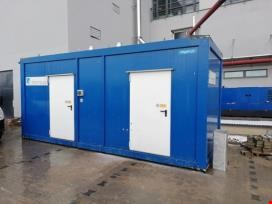 Generators  of pure steam in container housing
