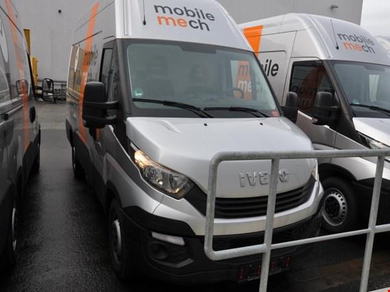 iveco daily star 35 s 14 transporter kastenwagen hoch. Black Bedroom Furniture Sets. Home Design Ideas