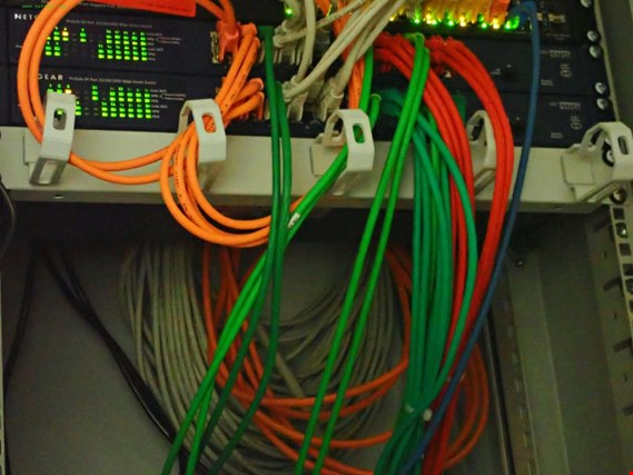 Used Netgear GS724T 2 Switches for Sale (Online Auction)
