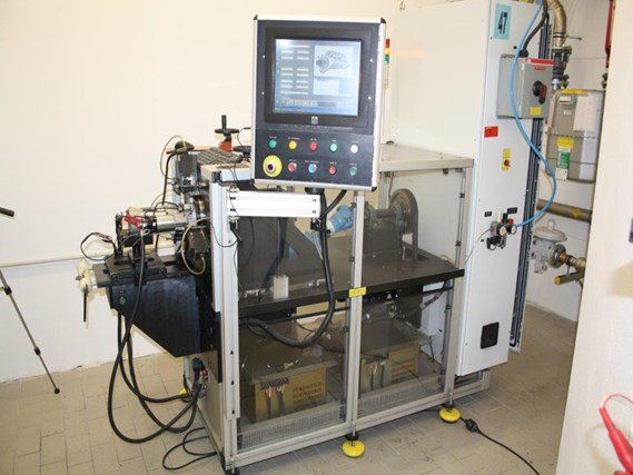 Online Sale well-maintained D&V starter test benches from the automobile sector