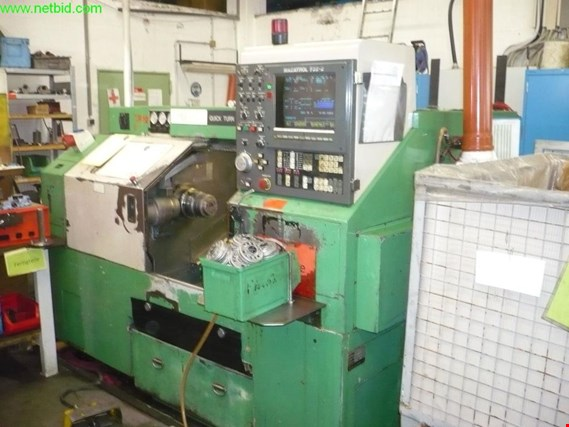 Online-Auction CNC lathes and other metalworking machinery, measuring equipment and office and business equipment