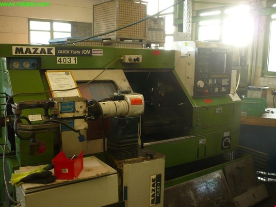 Used Mazak Quick turn 10N CNC-Drehmaschine for Sale (Auction Premium) | NetBid Industrial Auctions