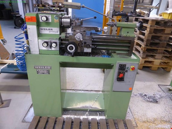 Used Weiler Primus Mechaniker-Drehbank for Sale (Auction Premium) | NetBid Slovenija