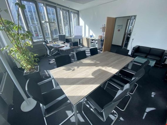 office workplaces, conference room equipment, fitted kitchens etc. located at Hamburg (Germany)