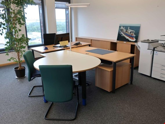 Office workplaces, conference room equipment, conference technology, file storage, a.m.o. located at Osterrönfeld (Germany)