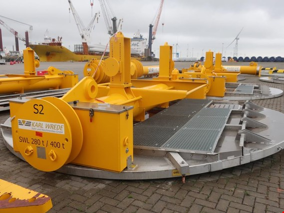 High quality technology, tools and aids for construction and service of wind turbines (onshore / offshore)  located at Bremerhaven (Germany)