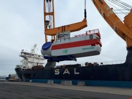Construction site returns from an offshore wind farm project <br>