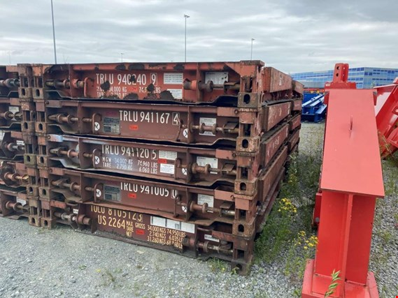China International Marine Containers Ltd. 20´-faltbares Flatrack (Online Auction) | NetBid España