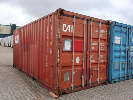 Used 20`- Sea container (standard box) for Sale (Auction Premium) | NetBid Industrial Auctions