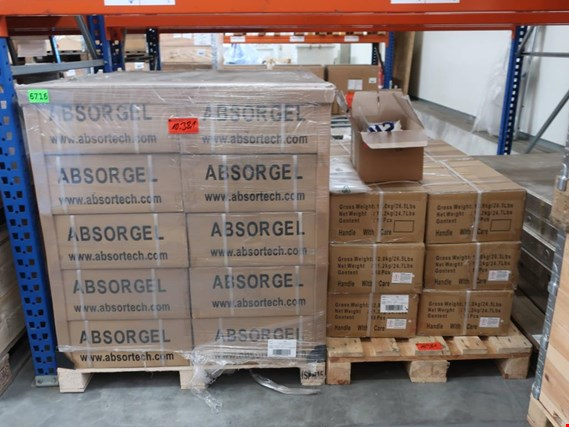 Used Absortech Absorgel lot moisture absorber for Sale (Trading Premium) | NetBid Slovenija