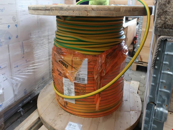 Used Lapp H07V-K 1X120 GNYE 280 lin. m. earthing cable for Sale (Trading Premium) | NetBid Industrial Auctions
