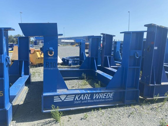 Used Karl Wrede 5M/6M Transportgestell Rotorwelle for Sale (Trading Premium) | NetBid Industrial Auctions