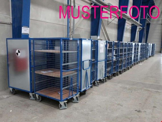 Used 4 Kommissionierwagen for Sale (Trading Premium) | NetBid Industrial Auctions