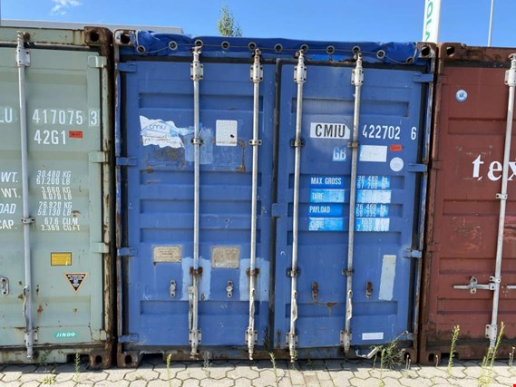Used 40´-Seecontainer for Sale (Online Auction) | NetBid Industrial Auctions