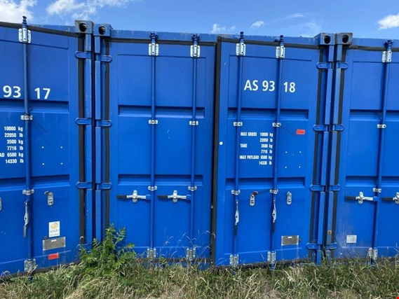 Used Standardbox 20´-Seecontainer for Sale (Trading Premium) | NetBid Industrial Auctions