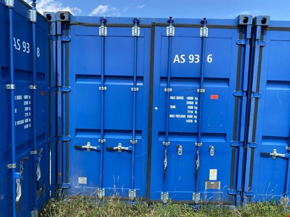 Used Standardbox 20´-Seecontainer for Sale (Trading Premium) | NetBid Slovenija