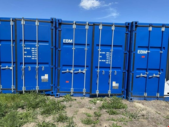 Used Standardbox 20´-Seecontainer (EBM) for Sale (Auction Premium) | NetBid Industrial Auctions
