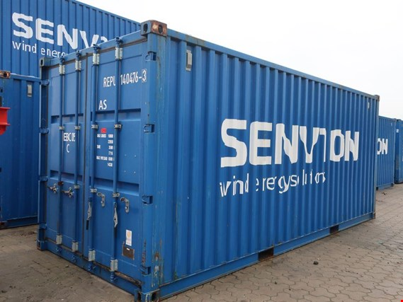 Used Montagecontainer Triebstrang/Gondeldach 3.XM EBC for Sale (Trading Premium) | NetBid Industrial Auctions