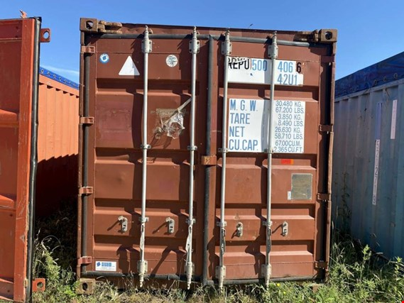 Open Top 40´-Seecontainer gebraucht kaufen (Online Auction) | NetBid Industrie-Auktionen