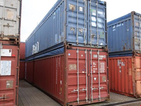 2 40 seecontainer gebraucht kaufen auction premium netbid industrie auktionen. Black Bedroom Furniture Sets. Home Design Ideas
