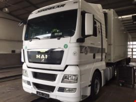 Tractor units, trucks refrigerated trailer and tankers tipper semi-trailer