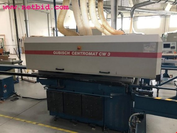 Wood-processing machines for window production