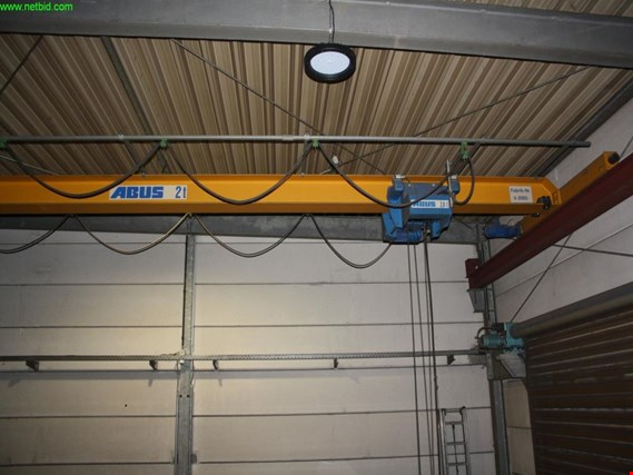 Used Abus 1-girder overhead crane (Later release end of October 2019) for Sale (Auction Premium)