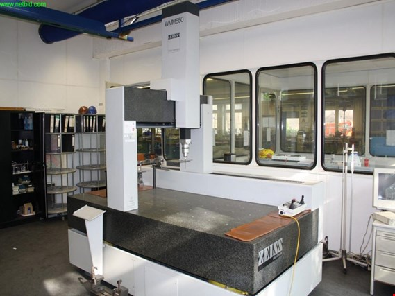Used Zeiss WMM 850 coordinate measuring machine for Sale (Trading Premium)