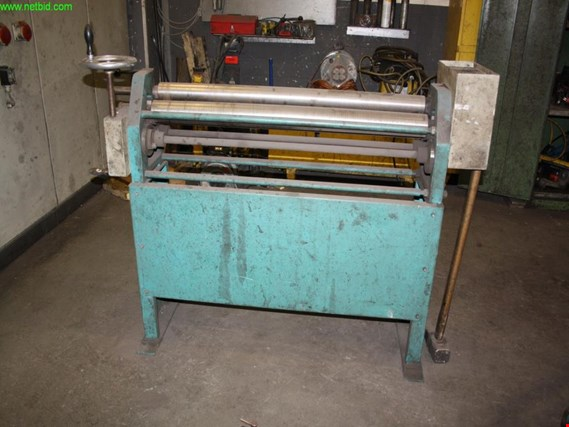 Used Prinzing RM 70/103 sheet metal round bending machine for Sale (Auction Premium) | NetBid Industrial Auctions