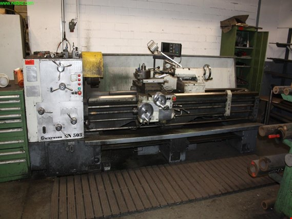 Used Aris SN 503 X 2000 sliding and screw cutting lathe for Sale (Auction Premium) | NetBid Industrial Auctions