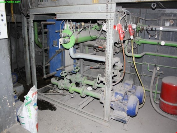 Used central furnace cooling system (mains frequency furnace 1+2) for Sale (Trading Premium)