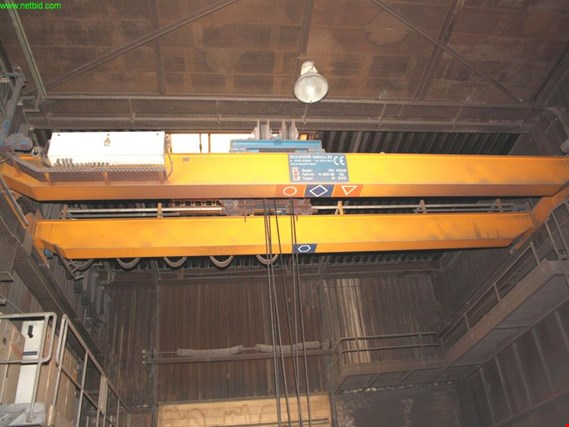 Used Erich Schäfer 2-girder overhead crane (charging crane) (Later release end of November 2019) for Sale (Auction Premium)