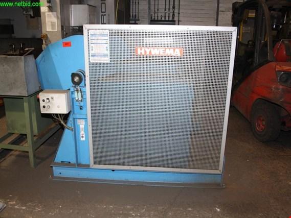 Used Hywema KV 12 hydraulic dumper and feeder station for