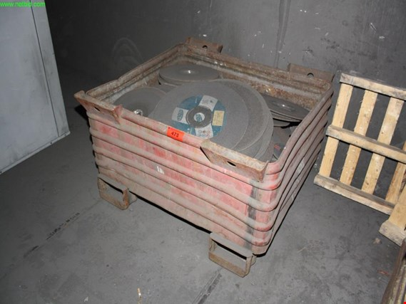 Used 1 Posten grinding disks/cutoff disks for Sale (Trading Premium) | NetBid Industrial Auctions