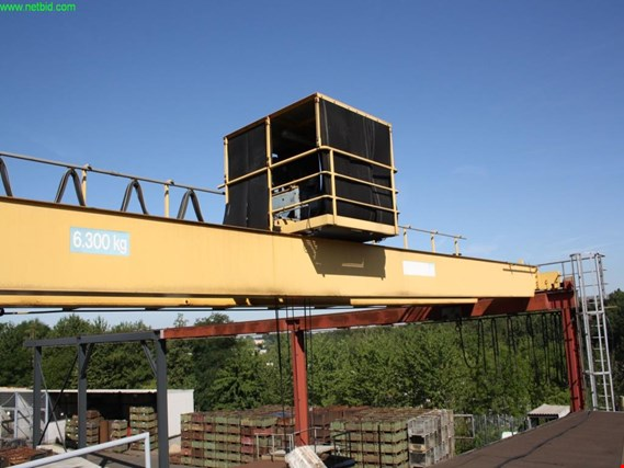 Used Erich Schäfer KG 2-girder overhead crane for Sale (Trading Premium)