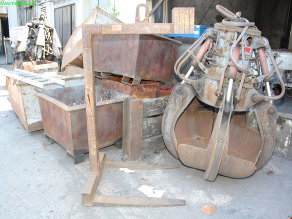 Used crane pallet fork for Sale (Trading Premium) | NetBid Industrial Auctions