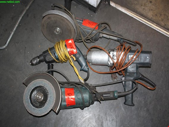 Used 4 electric handheld machines for Sale (Auction Premium) | NetBid Industrial Auctions