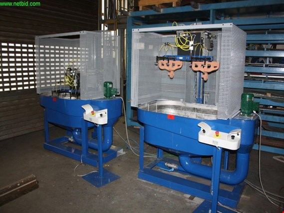 Küpper robot black wash dipping plant (Online Auction) | NetBid España