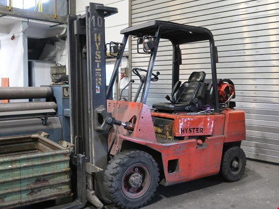 Used Hyster H 2.50 XL LPG forklift truck (Later release end of October 2019) for Sale (Auction Premium) | NetBid Industrial Auctions