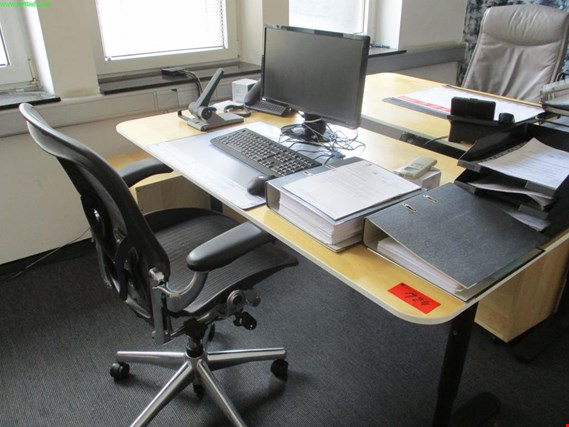 Used office desk for Sale (Auction Premium) | NetBid Industrial Auctions