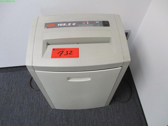 Used HSM 105.2 C file shredder for Sale (Auction Premium) | NetBid Industrial Auctions